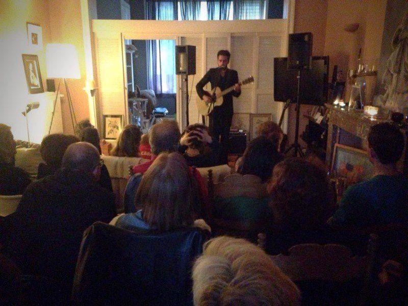 Kris Dane @ Home concert (Uccle) - 23/05/2015