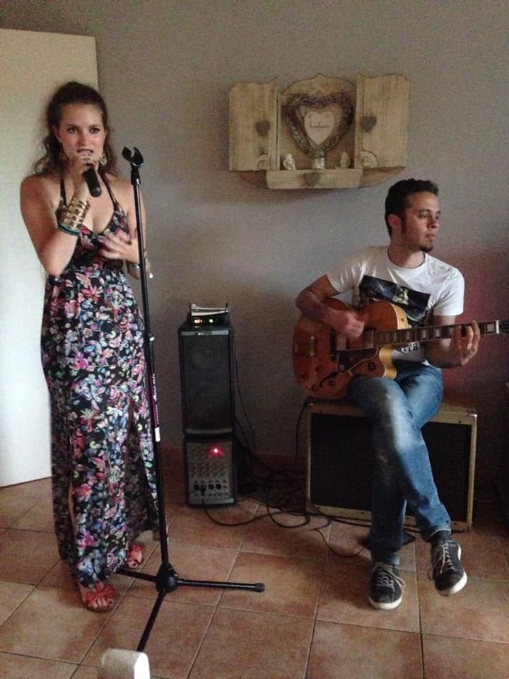 Laura Crowe @ Home concert (Mont-Saint-Guibert) - 12/06/2015