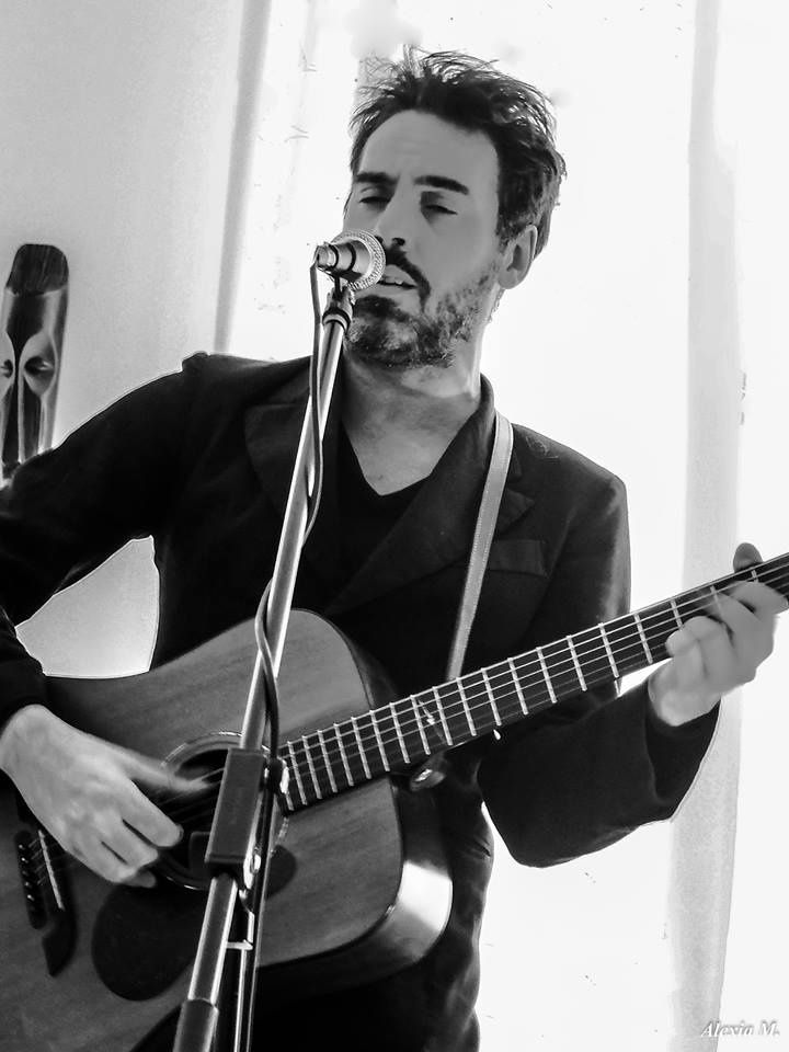 Kris Dane @ Home concert (Uccle) - 24/05/2015