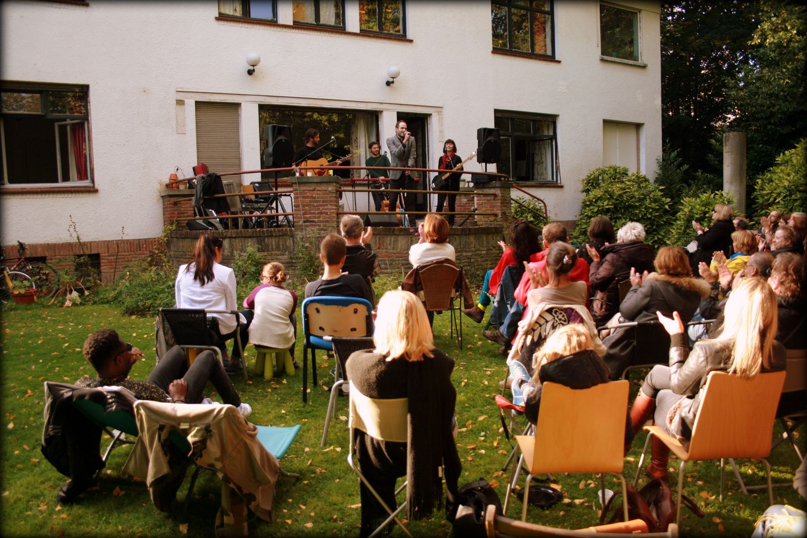 Beautiful Badness @ Home concert (Uccle/Prince d'Orange) - 27/09/2015