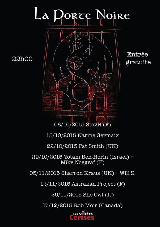 Poster - La programmation de La Porte noire