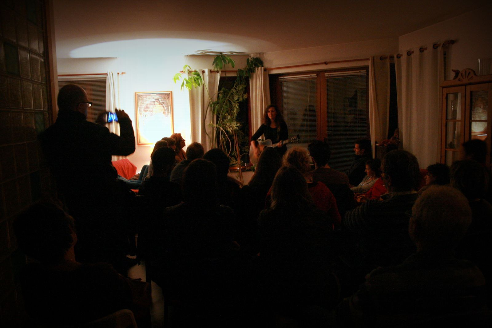 Colline Hill @ Home concert (Drogenbos) - 11/10/2015