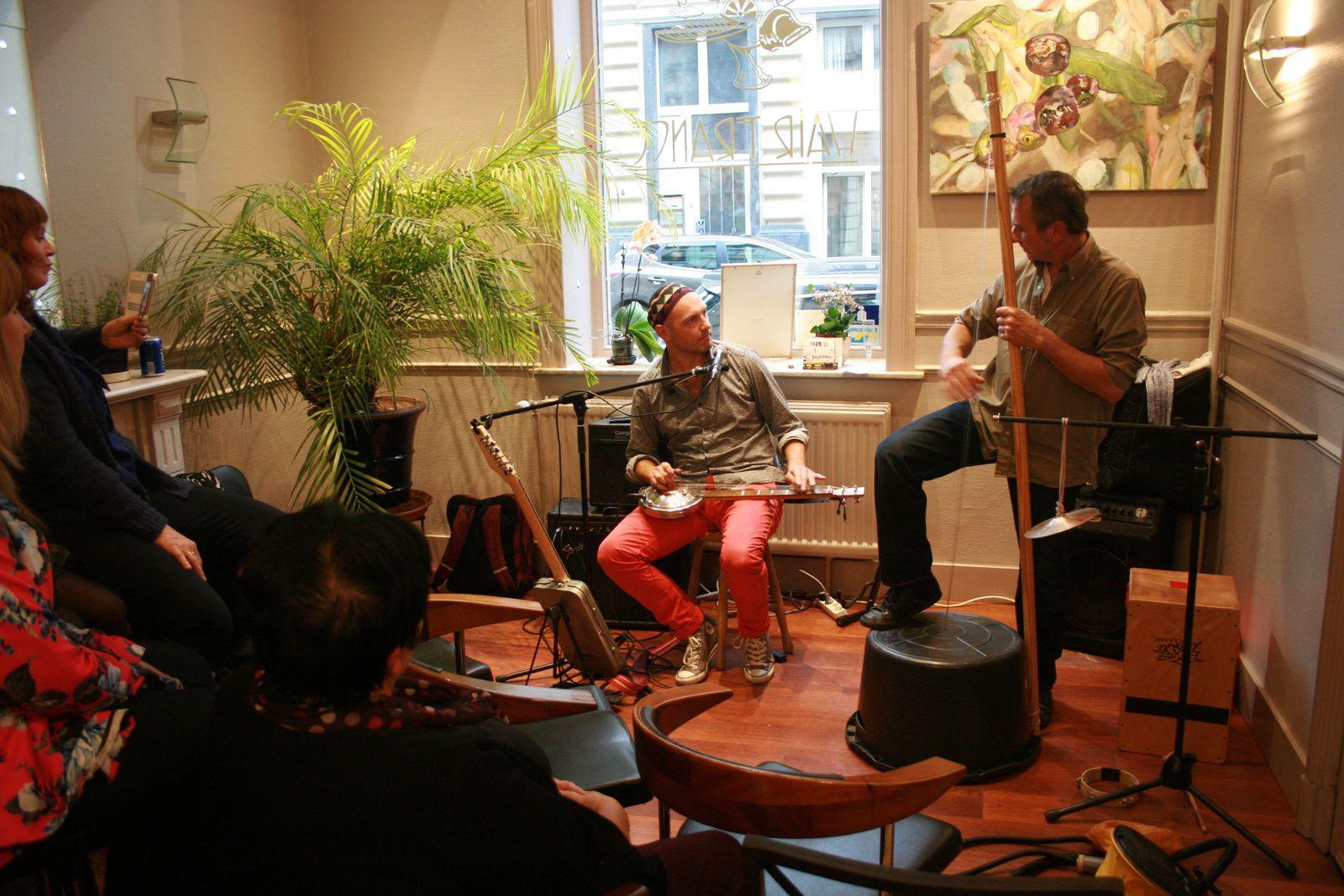 Tram33 @ Home concert (Salon de coiffure France hair) - 18/10/2015