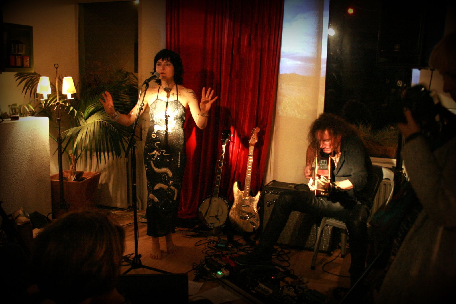 Marianne Dissard (F) @ Home concert (Uccle) - 19/11/2015