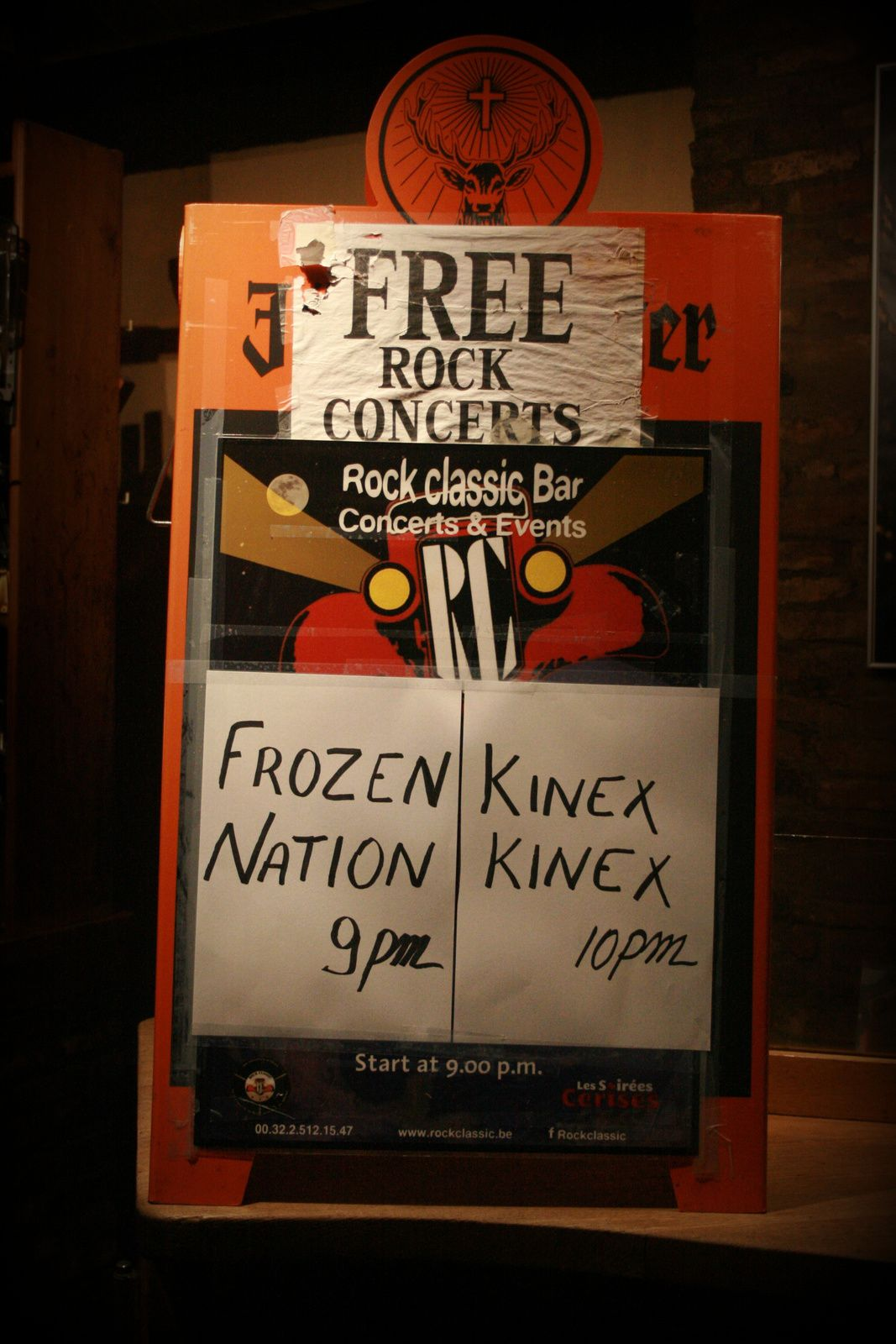 Frozen Nation @ Rock Classic - 18/12/2015