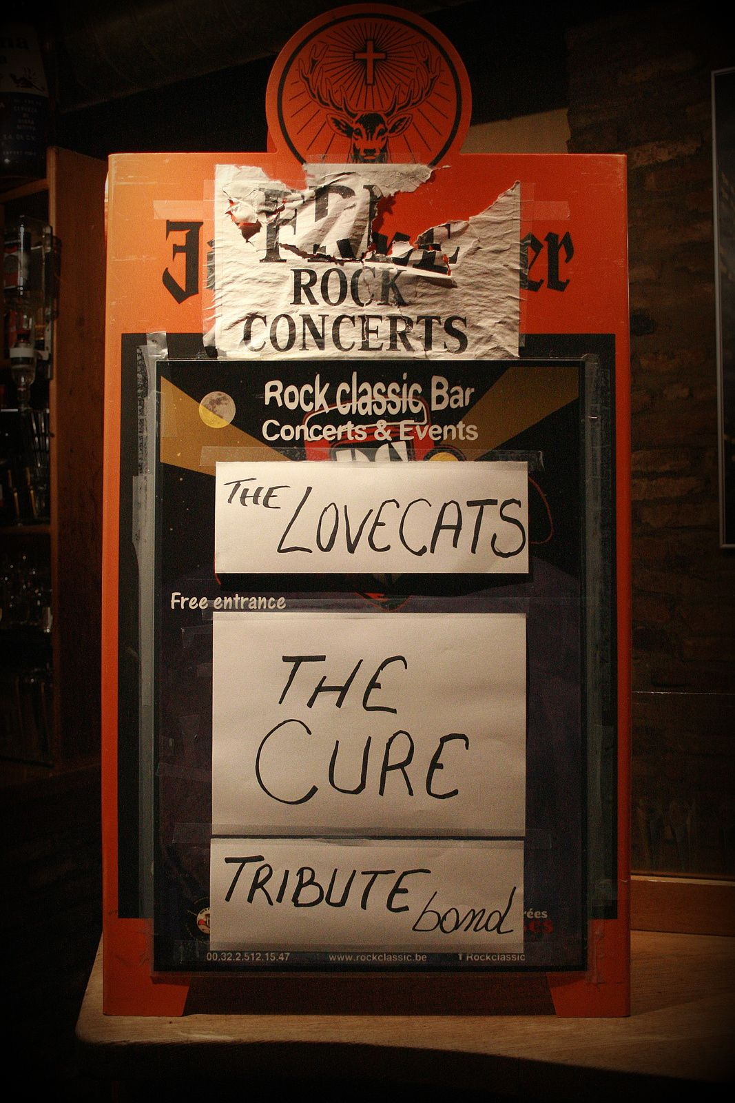 The Lovecats (Tribute band to THE CURE) @ Rock Classic - 19/12/2015