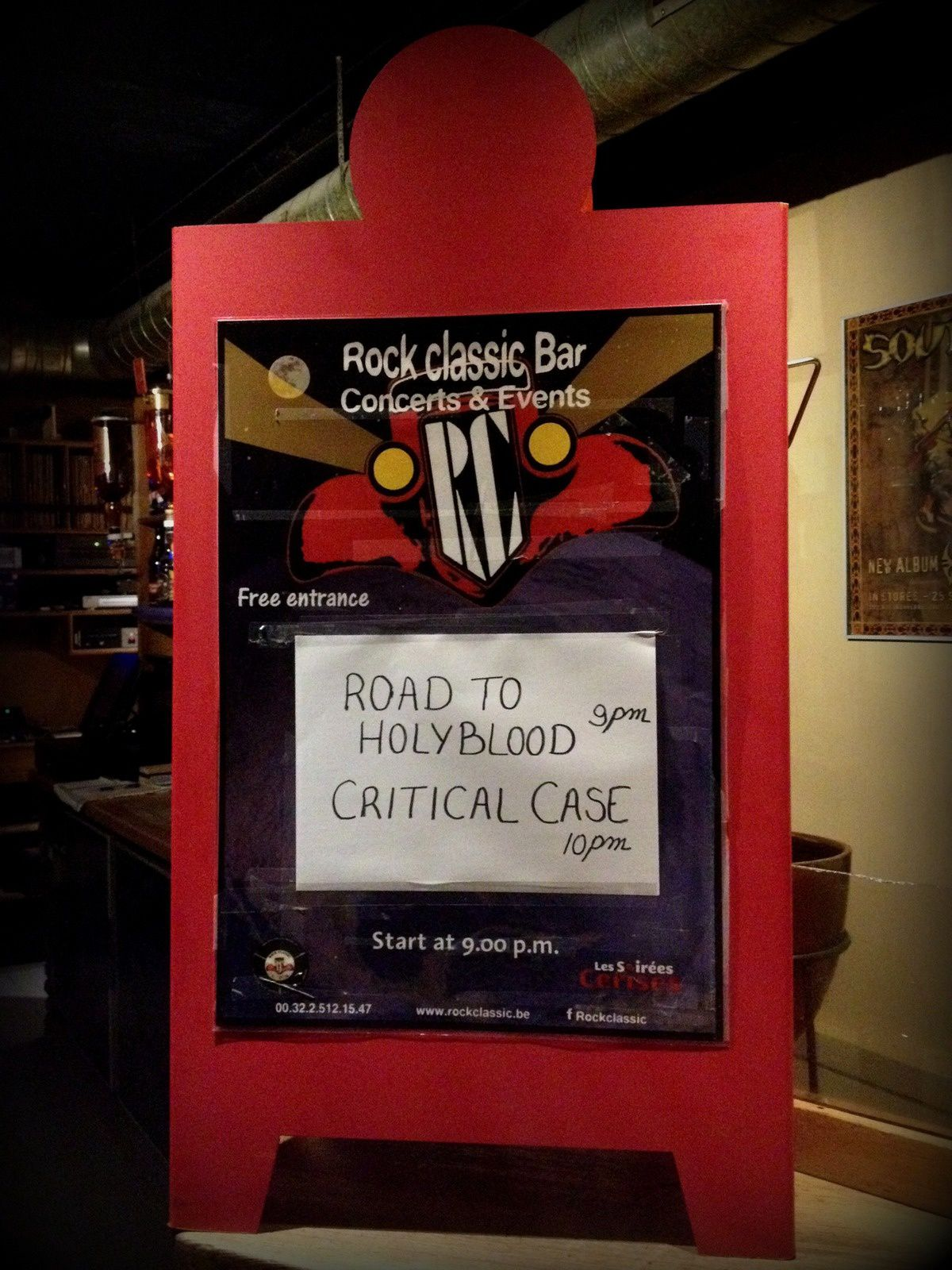 Road to Holyblood + Critical Case @ Rock Classic - 05/03/2016