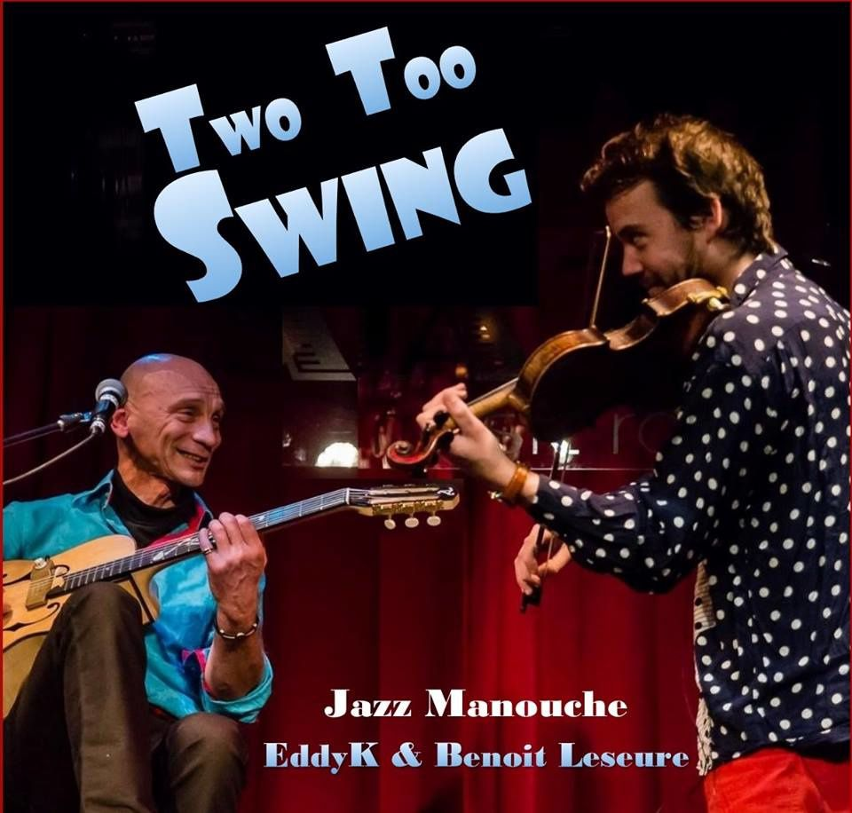 ▶ Two too swing @ Etterbeek - private home concert - 23/04/2016