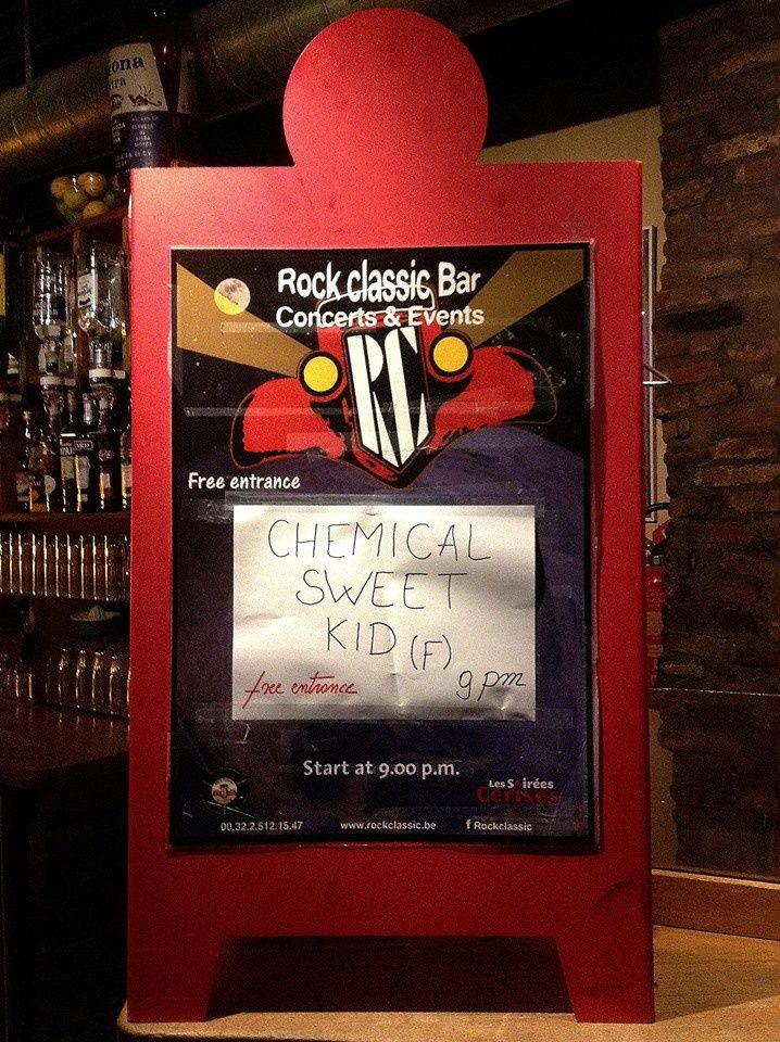 ▶ Chemical Sweet Kid (F) @ Rock Classic - 06/05/2016