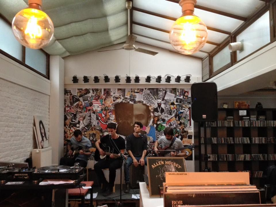 ▶ Neufchâtel @ Taille 33 record store - 25/06/2016