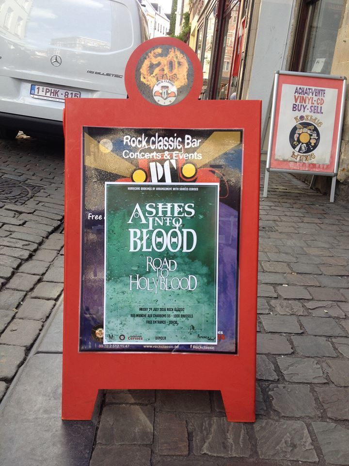 ▶ Road to Holyblood @ Rock Classic - 29/11/2016