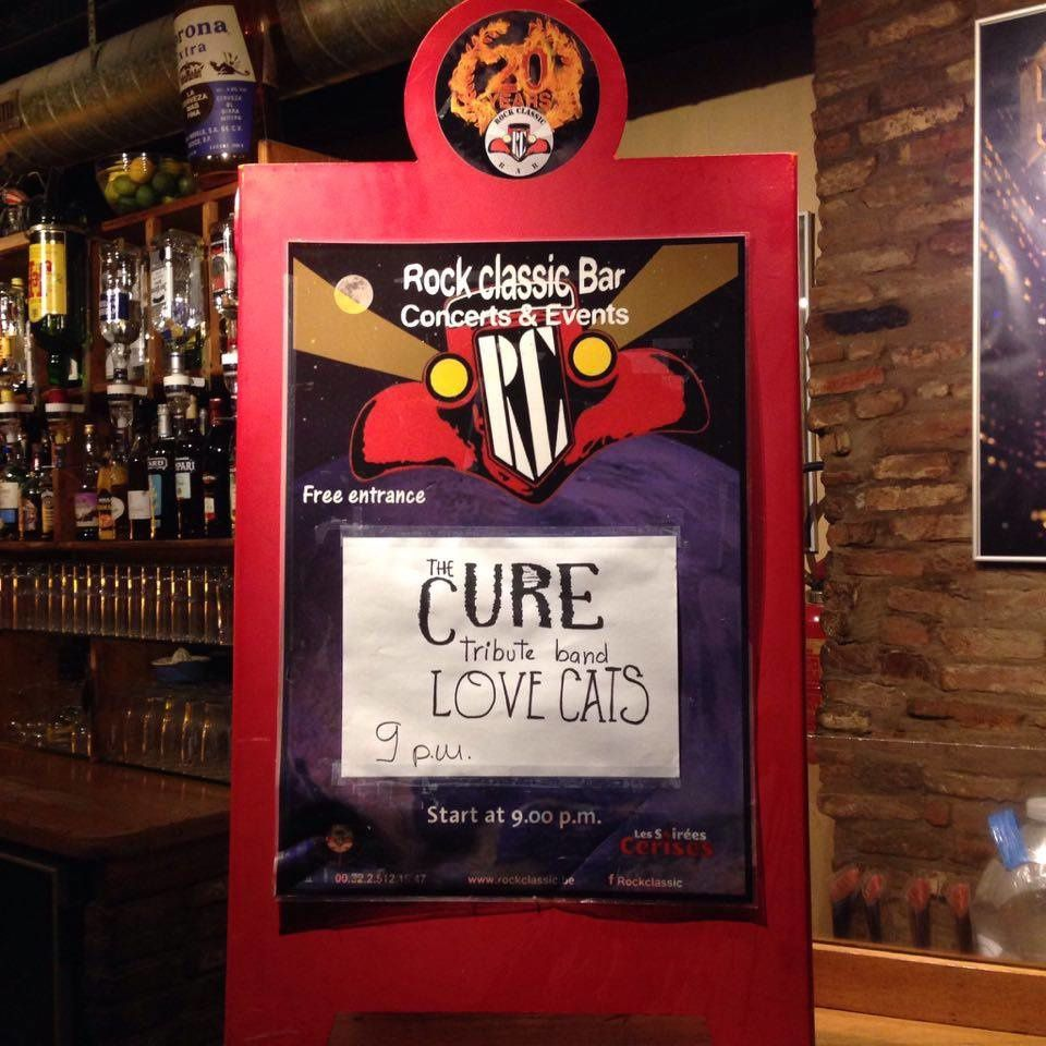 ▶ The Lovecats plays THE CURE @ Rock Classic - 28/01/2017