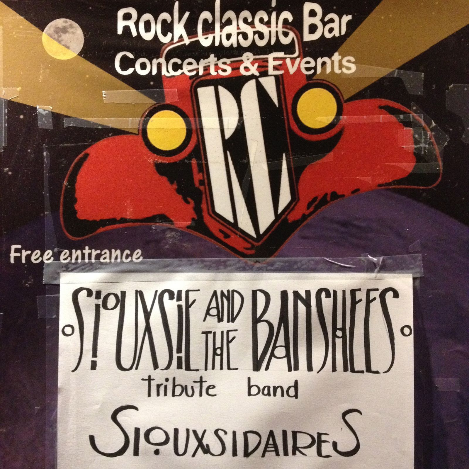 ▶ Siouxsidaires (Siouxsie &amp&#x3B; the Banshees tribute band) @ Rock Classic - 03/06/2017