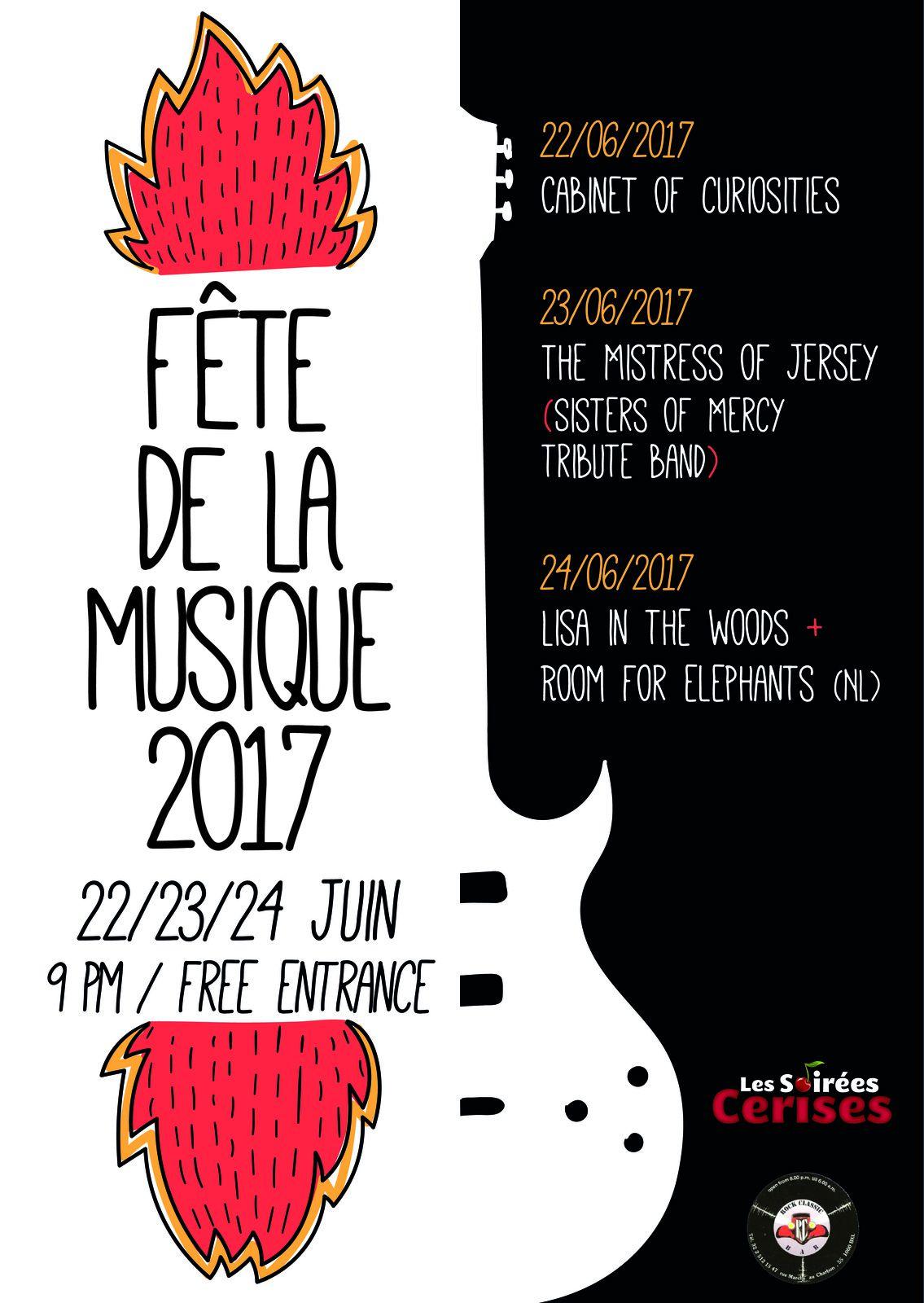 ▶ Cabinet of Curiosities @ Rock Classic - 22/06/2017 - 20h30 - Entrée gratuite !