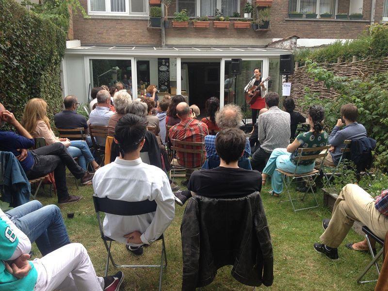 ▶ Concert au jardin avec Te Beiyo (F) @ Auderghem - 16/07/2017