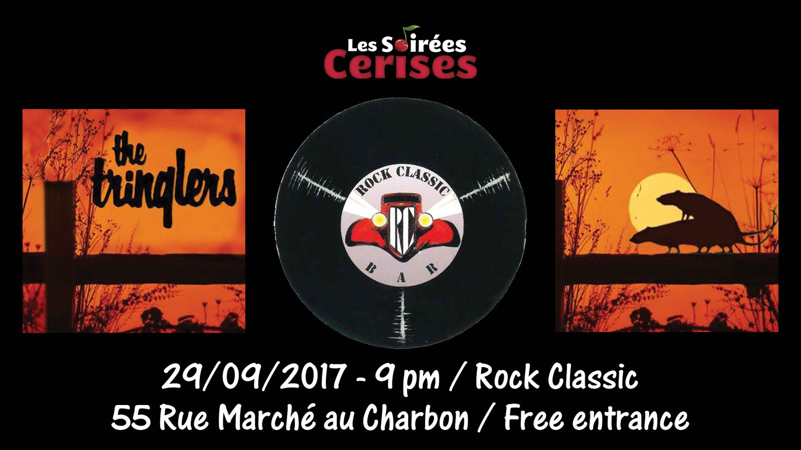 ▶ Photos / Videos - The Tringlers @ Rock Classic - 29/09/2017
