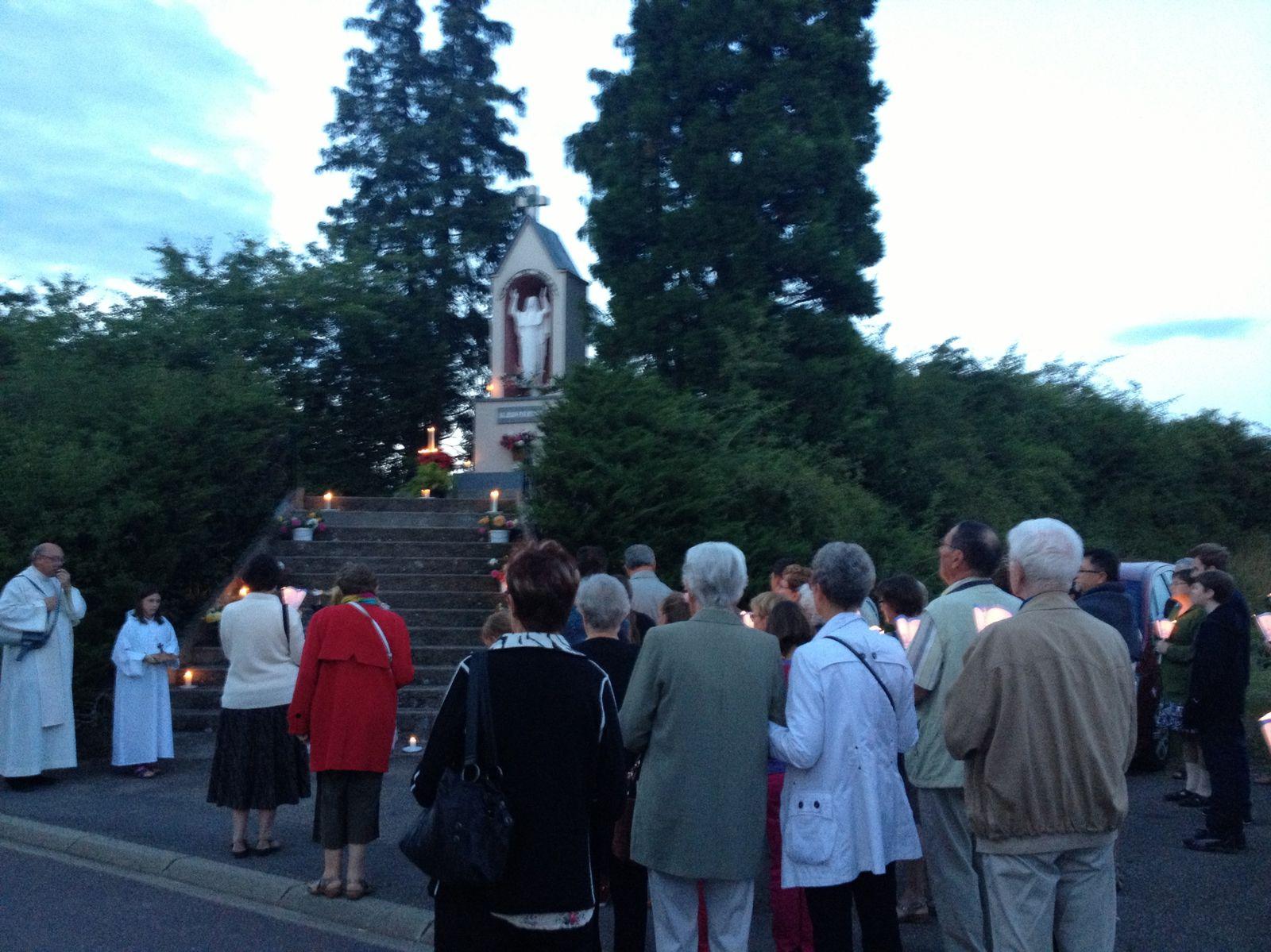 Procession du 14 août 2013 à DROGNY