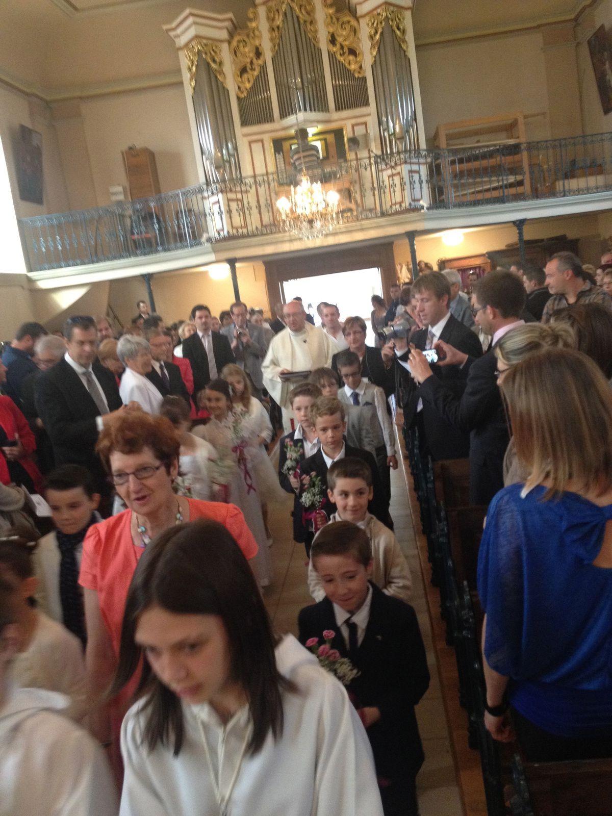 communion 25 mai 2014