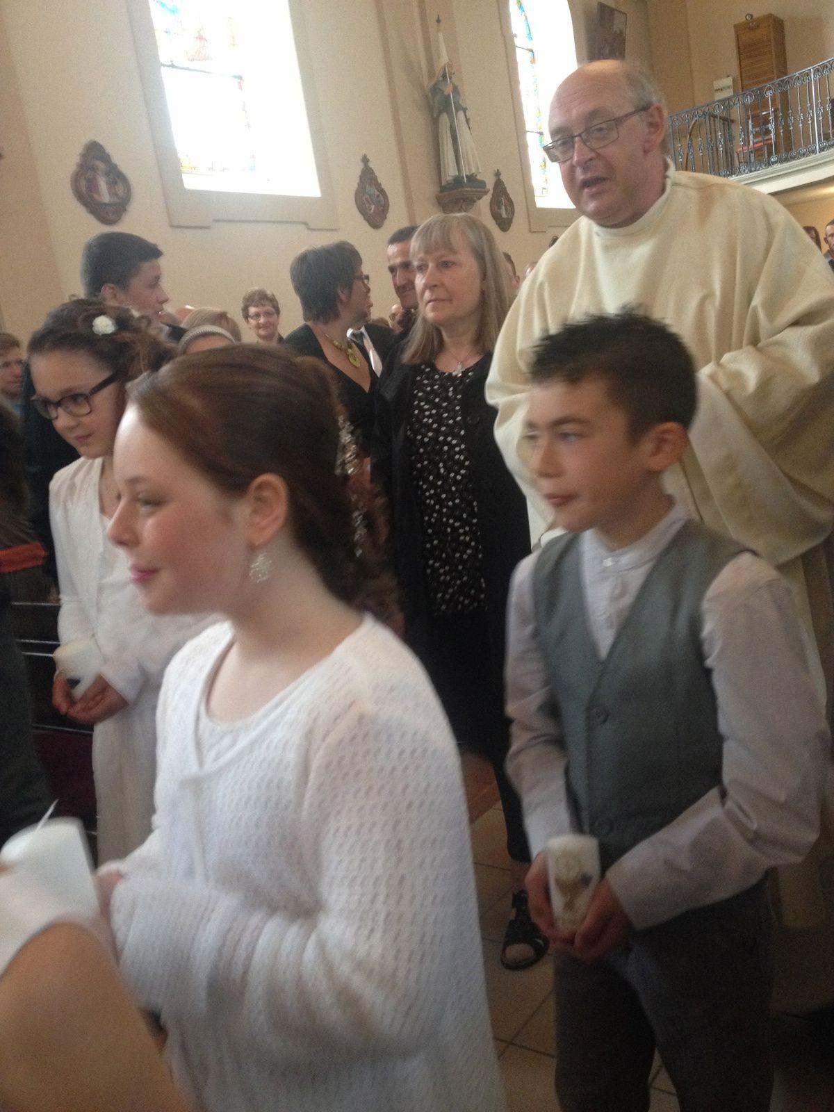 les photos de la communion à DROGNY
