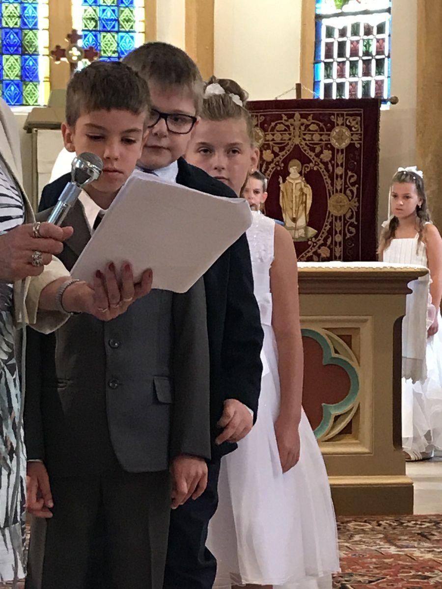 communion à DROGNY le 11 juin 2017