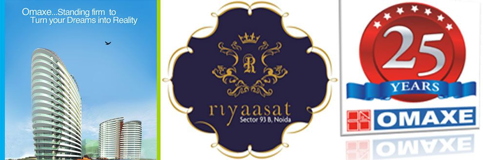 Omaxe RIYASAT exclusively designed apartments in grandiose 2 towers of G+23 Floors spread over meticulously landscaped ,located at the prime location of sec 93-b, along with Express-way, few minutes distance from major places eg: airport, golf course, Apollo hospital, Expo mart(gr.noida), amity school etc.More Info Visit:http://www.omaxeriyasat.ind.in/http://www.omaxeriyaasatnoida.in/http://www.omaxegroupnoida.in/http://www.aanganestate.com/project/omaxe-riyaasat/riyaasat/noida/269.html