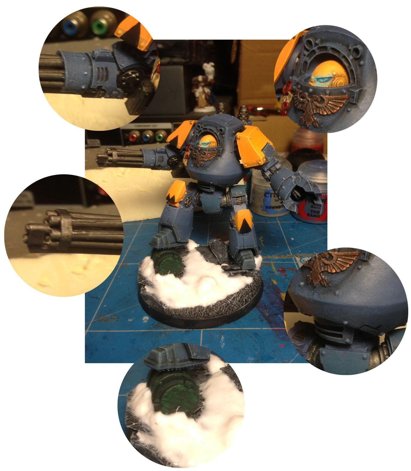 Dreadnought Contemptor Space Wolves