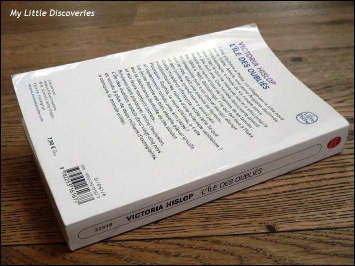"""""""L'île des oubliés"""", de Victoria Hislop, Prix des Lecteurs 2013"""