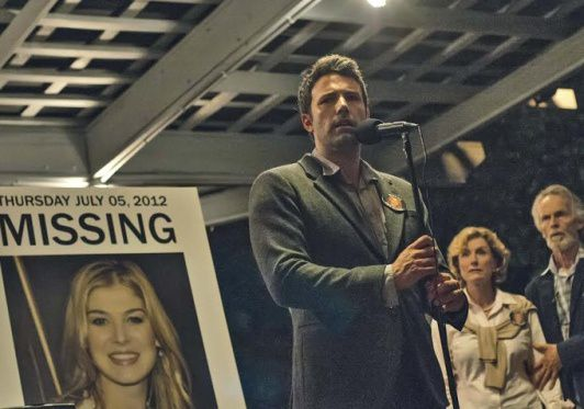 "Première photo de Ben Affleck dans ""Gone Girl"", l'adaptation ciné de David Fincher"