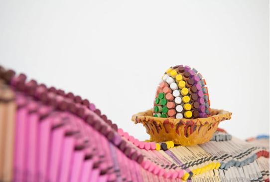 Vu chez les autres #62 : les sculptures Crayola!