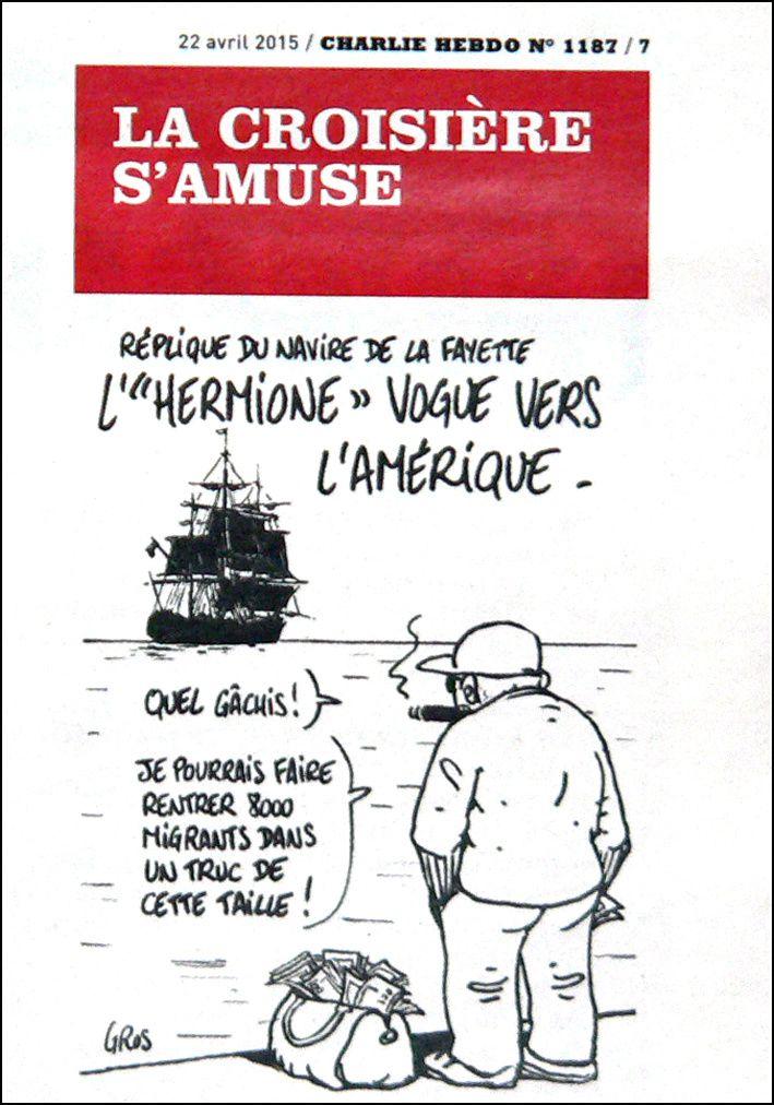 Le dessin de Charlie Hebdo #9
