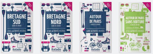 Qui a gagné les 3 guides Balado?