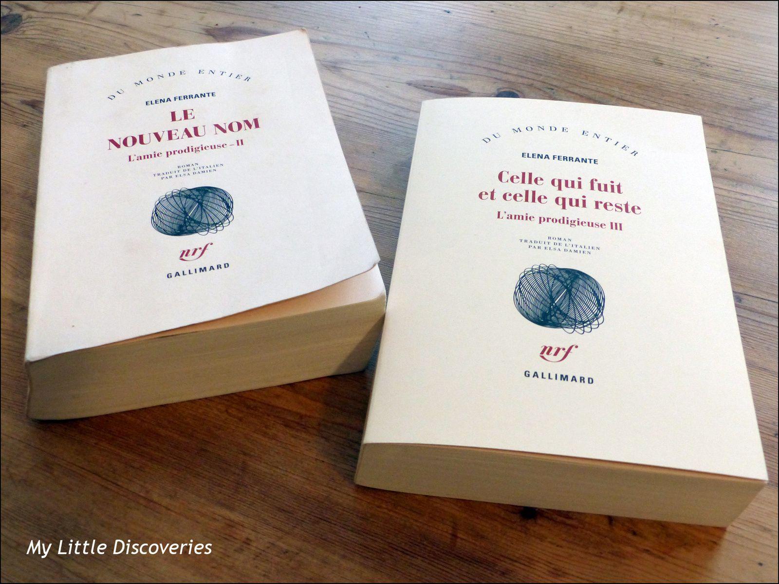 Mes lectures de printemps : d'Elena Ferrante à Emmanuel Macron