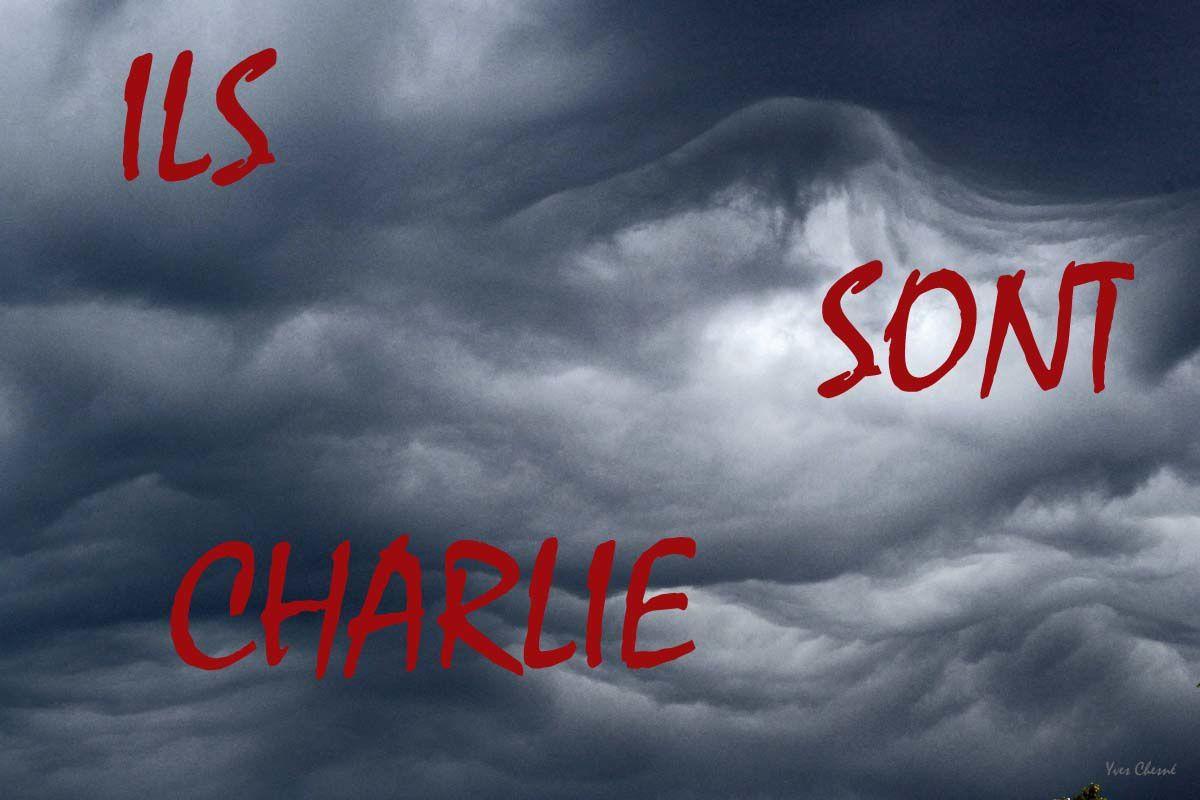 JE SUIS CHARLIE et continuerai à voir ceux qui ne sont plus là pour être vus!