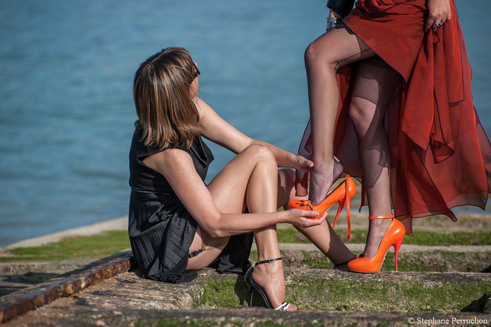 Miss Legs & Lescarpin