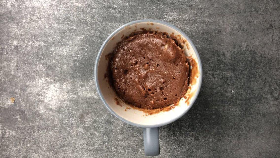 Mug cake - fondant au chocolat