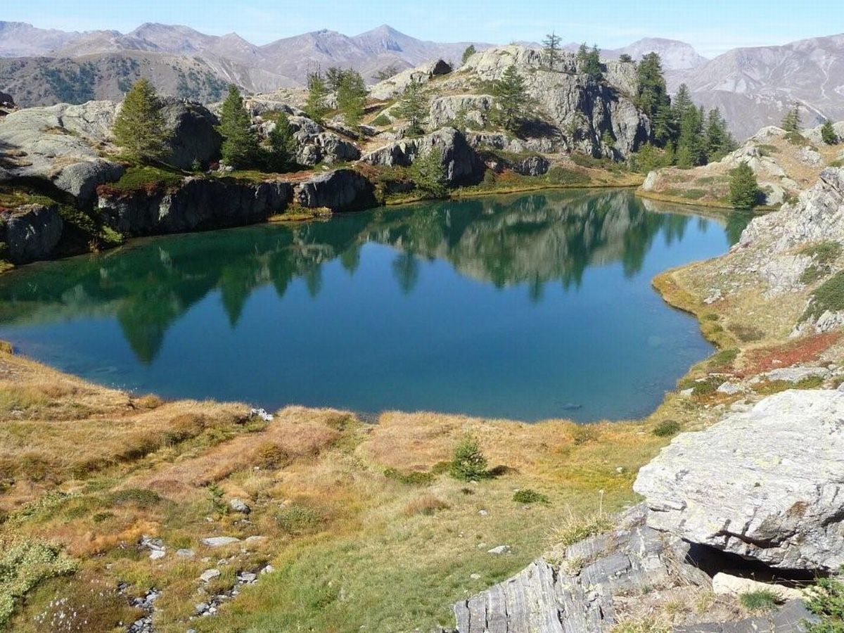 Les lacs de Vens : 26 septembre 2013