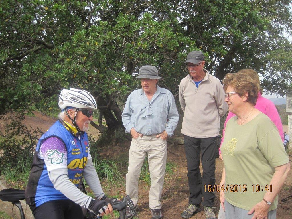 Le Pic du Cap Roux : 16 avril 2015