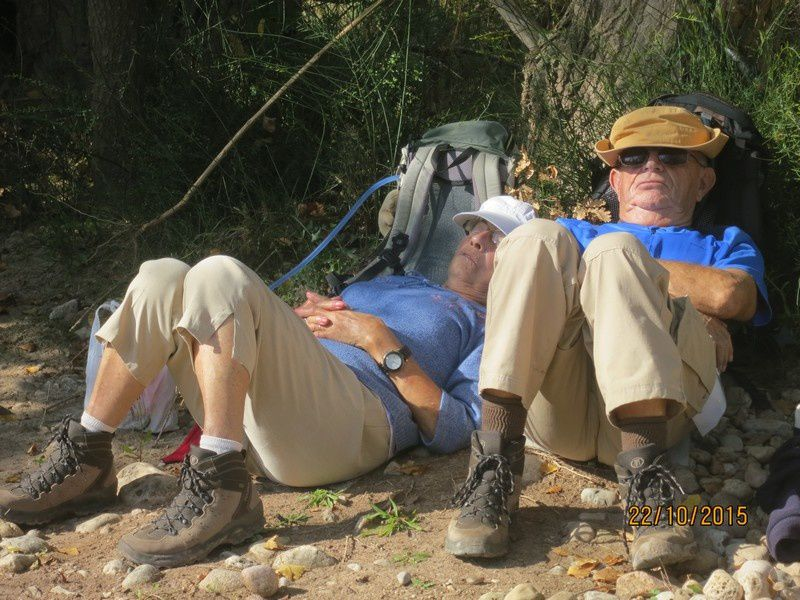 Trou de La Jarre - circuit petites jambes - 22 octobre 2015