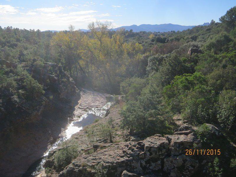 Jusqu'au Blavet en passant par la forêt Raphele - 26/11/2015