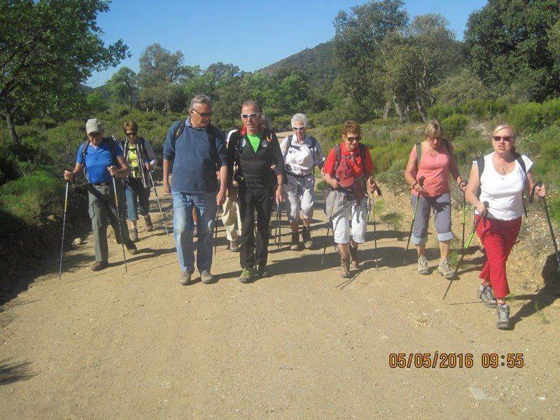 Le tour du Marre Trache par le lac de l'Avellan - circuit petites jambes - Jeudi 5 mai 2016