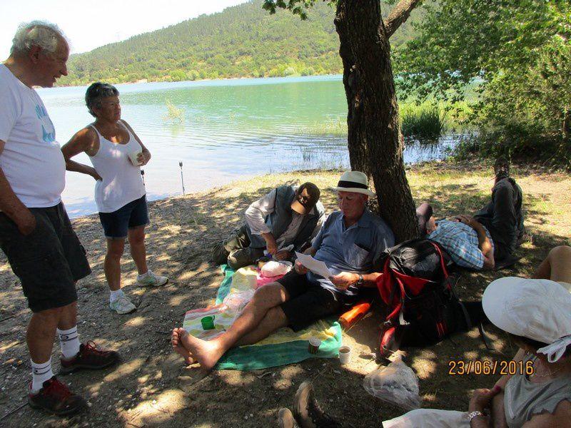 Les berges du Lac Saint Cassien - jeudi 23 juin 2016