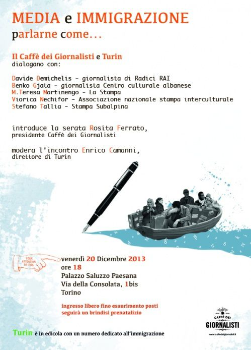 Media e Immigrazione, parlarne come...