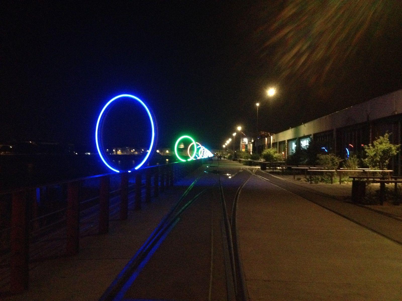 Nuit d'été à Nantes