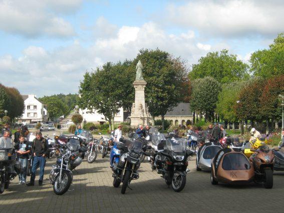 Pèlerinage moto à Sainte-Anne-d'Auray