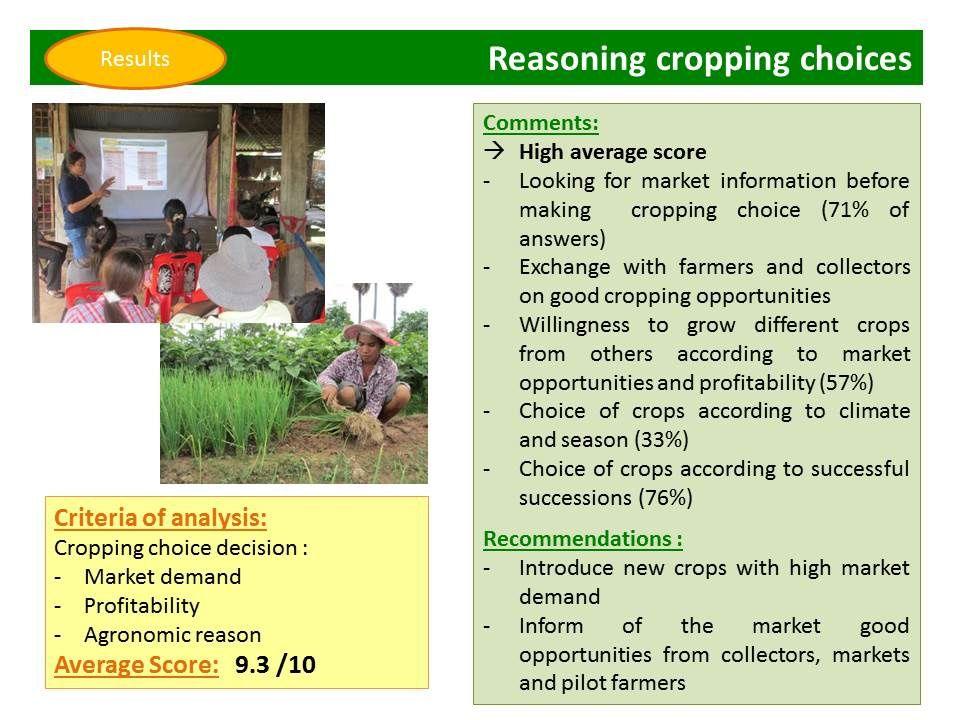 Evolution des pratiques agricoles en maraîchage