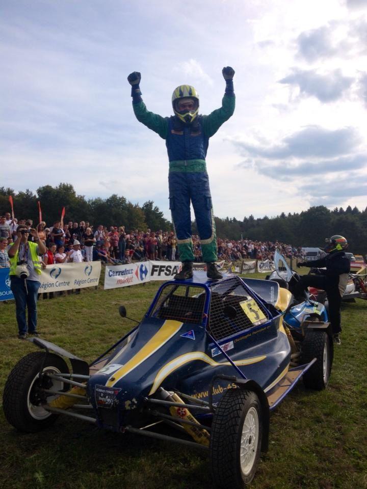 Christophe Perrichot vainqueur de la Coupe de France 2014 Buggy Cup