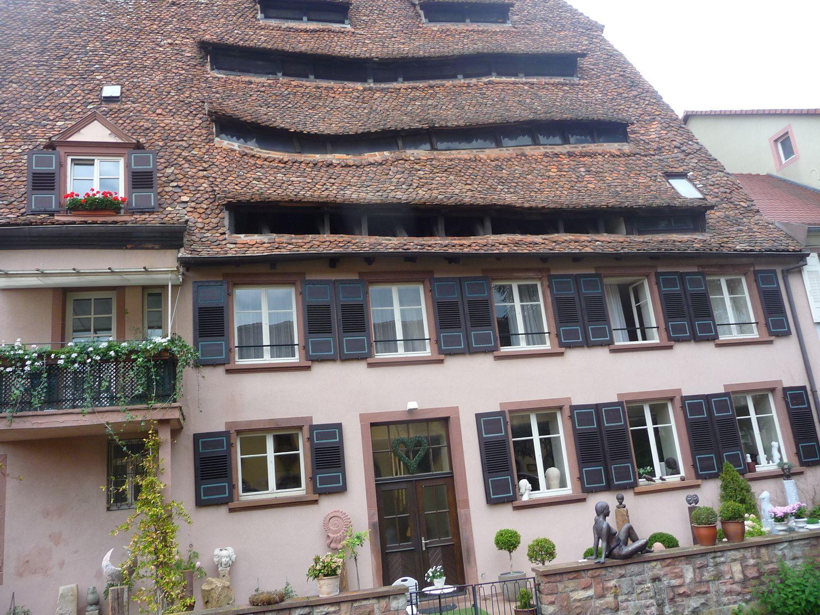 pour finir  un petit tour en Alscace  WISSEMBOURG  et une journée à Baden BADEN