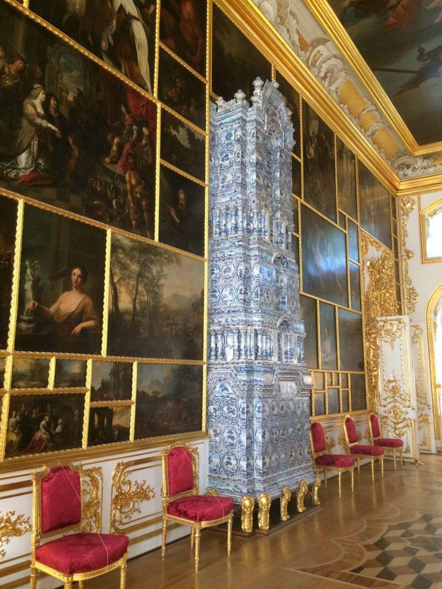 visite de pouchkine  ( 25 km de Saint Petersbourg )et du palas de la Grande Catherine