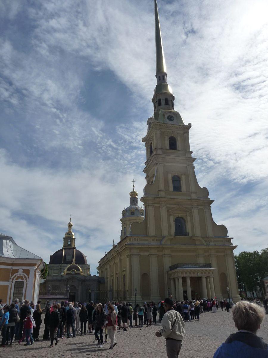visite de la forteresse Pierre et Paul  + collégiale avec la sépulture des Romanov