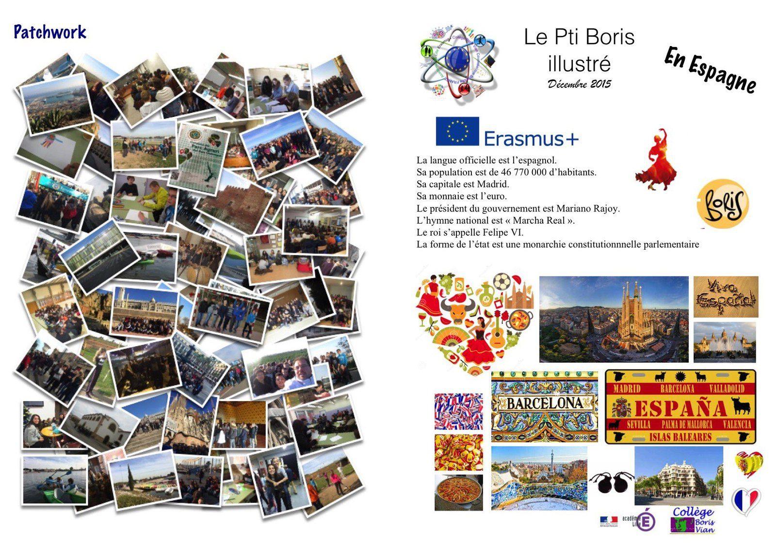 Vamos à Barcelona avec Erasmus+